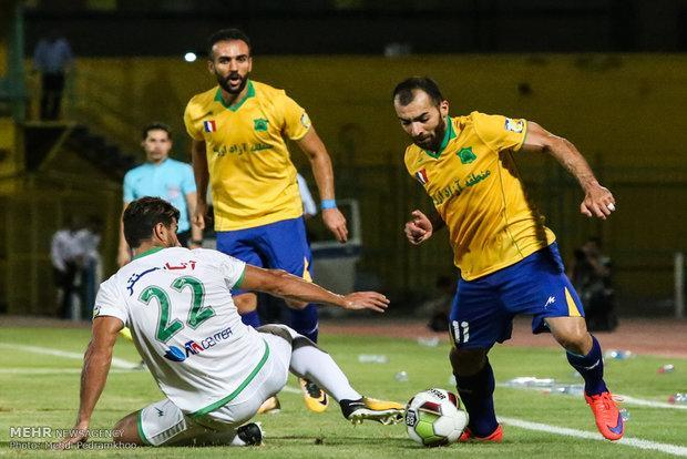 بازی تماشایی خوزستانی ها، کرار ستاره میدان بود