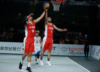 قزاقستان مغلوب تیم بسکتبال سه نفره شد
