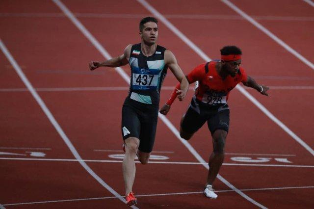 تفتیان در نیمه نهایی 200 متر آخر شد، سریع ترین مرد ایران بدون مدال ماند