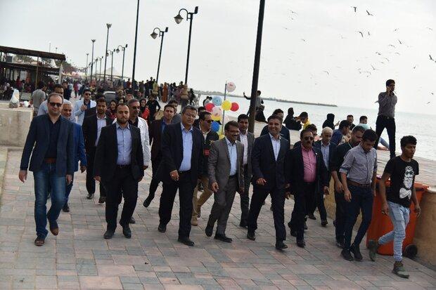 استان بوشهر مهیای میزبانی مسافران است، آماده باش برای بارندگی