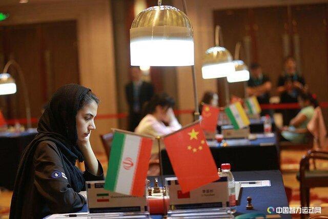 رجحان خادم الشریعه در دور پنجم مسابقات شطرنج چین