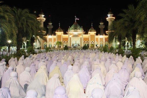 فضای معنوی و پرنشاط تایلند در ماه مبارک رمضان