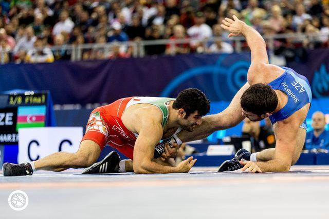 صعود امامی و کریمی به نیمه نهایی کشتی آزاد قهرمانی دنیا، شکست محبی مقابل اوکراین