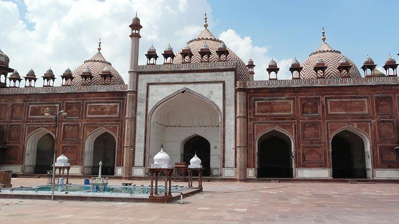 مسجد جامع آگرا، جلوه ای از هنر و معماری