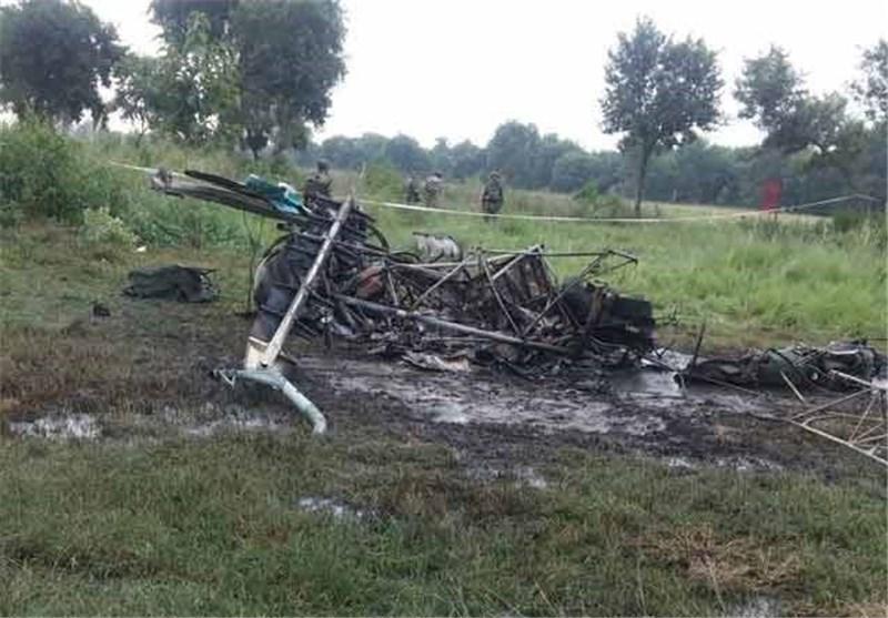پیدا شدن بالگرد گم شده نیروی هوایی تایلند بعد از سه روز
