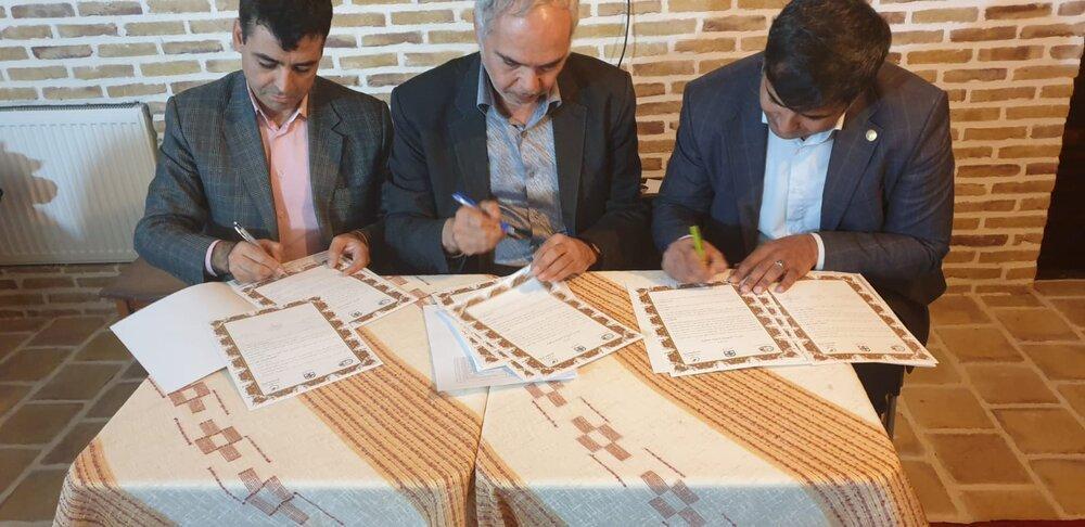 تفاهم نامه همکاری پارک علم و فناوری خراسان رضوی، دانشگاه حکیم و بخش خصوصی منعقد شد