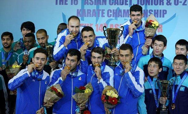 تیم ملی کاراته ایران دومین تیم برتر جهان معرفی گردید