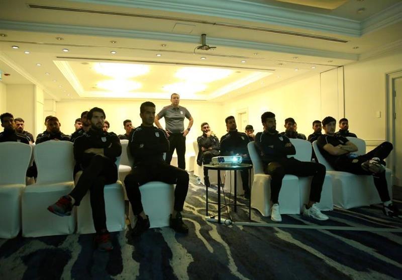 برگزاری جلسه بررسی عراق در اردوی تیم ملی، حضور مدیر تیم ها در جلسه هماهنگی