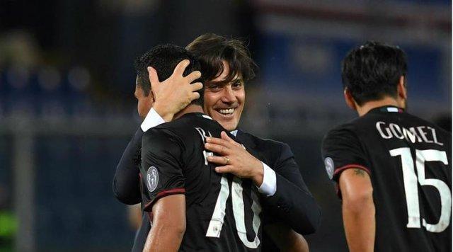 واکنش مونتلا بعد از پیروزی میلان