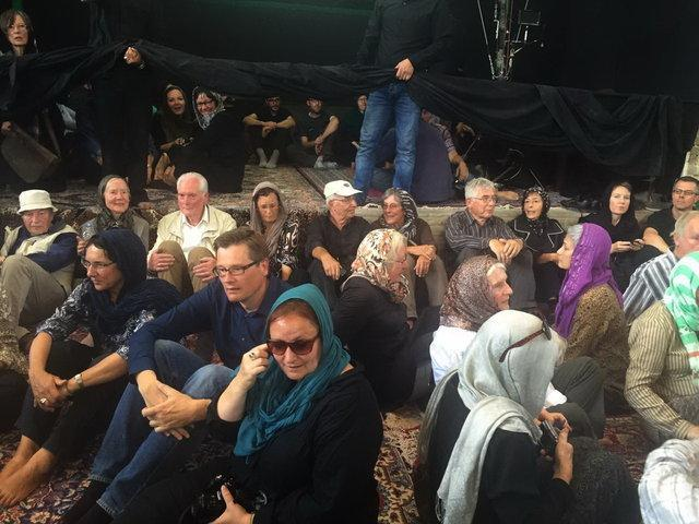 گردشگران خارجی در عزاداری امام حسین (ع)