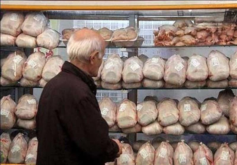 نوسان جزئی قیمت مرغ در بازار، نرخ مرغ به 12 هزار و 300 تومان رسید