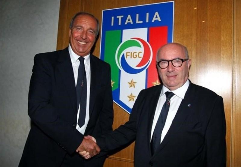 رئیس فدراسیون فوتبال ایتالیا به ونتورا رأی اعتماد دوباره داد