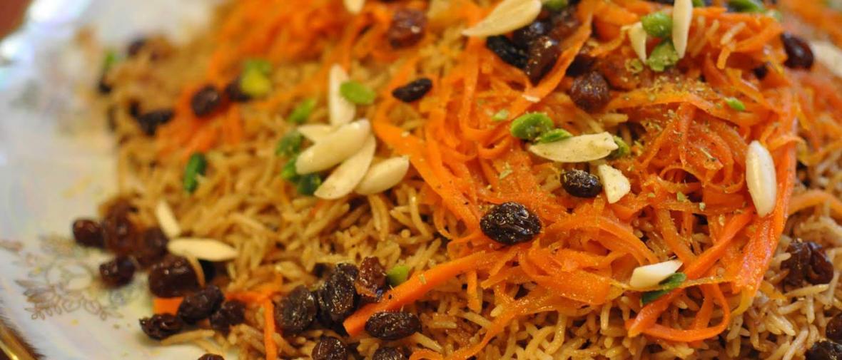 طرز تهیه: کابلی پلو ، غذای ملی افغانستان