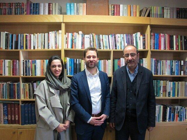 دیداری در باب همکاری های فرهنگی و ادبی ایران و آلمان