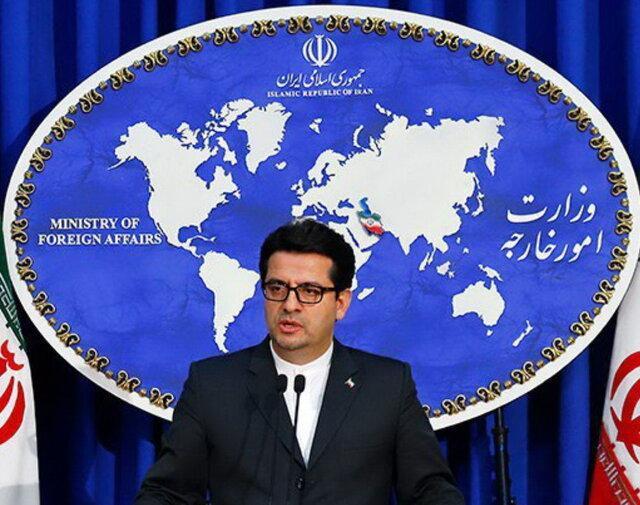 سخنگوی وزارت خارجه:ایران در مورد علت سقوط هواپیما تحقیقات را اغاز نموده