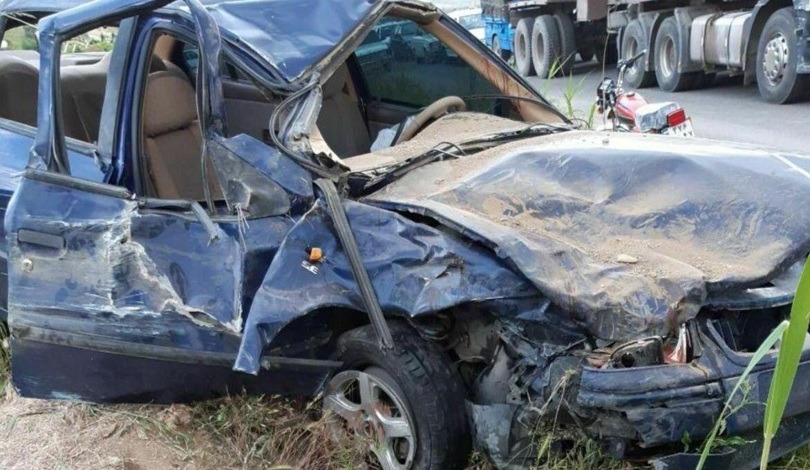 خبرنگاران واژگونی خودرو در جاده یاسوج به بابامیدان 8 مصدوم داشت