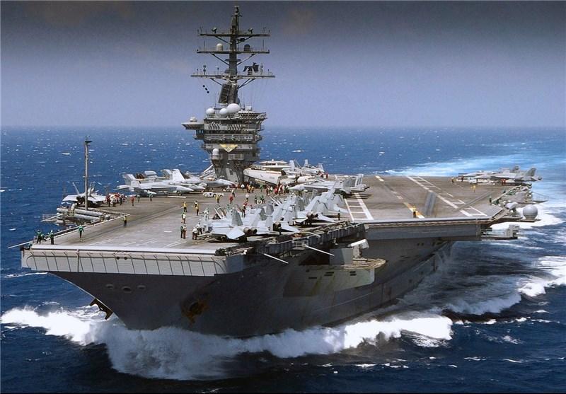 رزمایش های آمریکا در دریای چین جنوبی با هدف ناآرامی منطقه