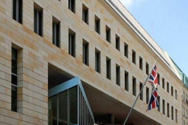 خودروی دیپلمات های انگلیسی در بغداد با بمب هدف قرار گرفت