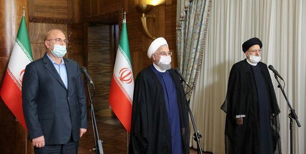 روحانی جلسه سران قوا را ناگهان لغو کرد