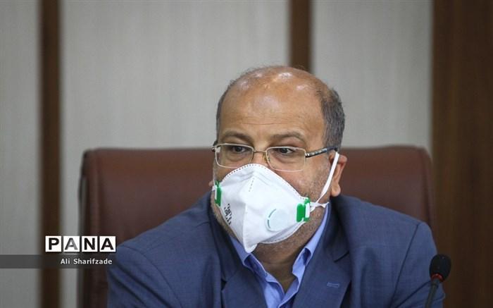 زالی: شرایط تهران کماکان شکننده و نگران کننده است