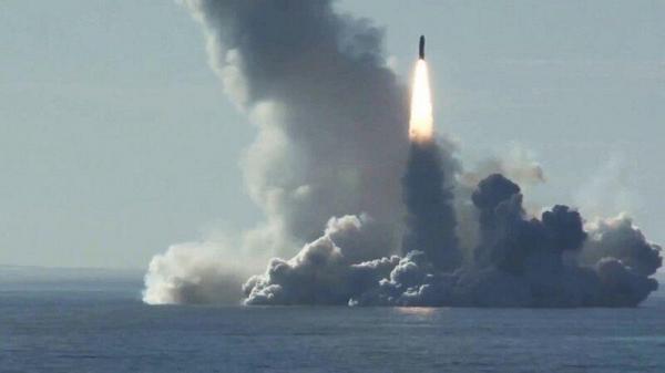 خبرنگاران روسیه چهار موشک قاره پیمای دریاپایه پرتاب کرد