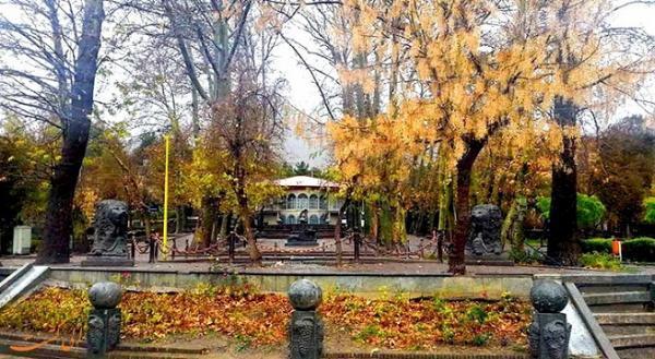 پارک سیفیه ملایر یادگاری از دوره قاجار