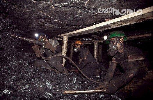 مرگ یک معدنچی در زیر آوار زغالسنگ