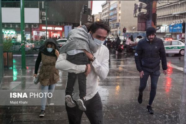 هشدار هواشناسی نسبت به وقوع رگبار و رعد و برق در 13 استان